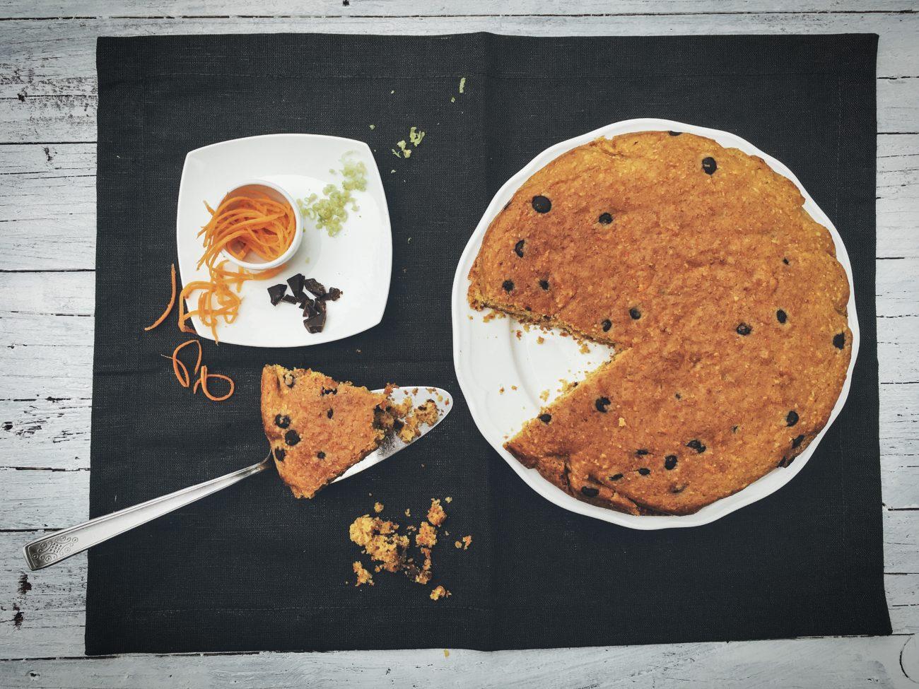 torta alle carote - cucinare secondo natura