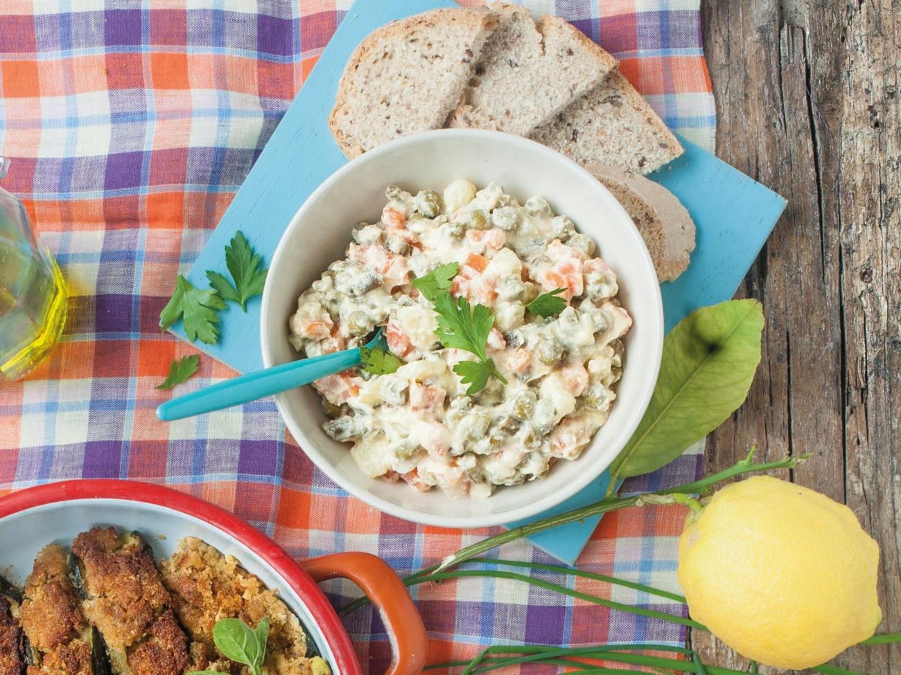 insalata russa veg - cucinare secondo natura