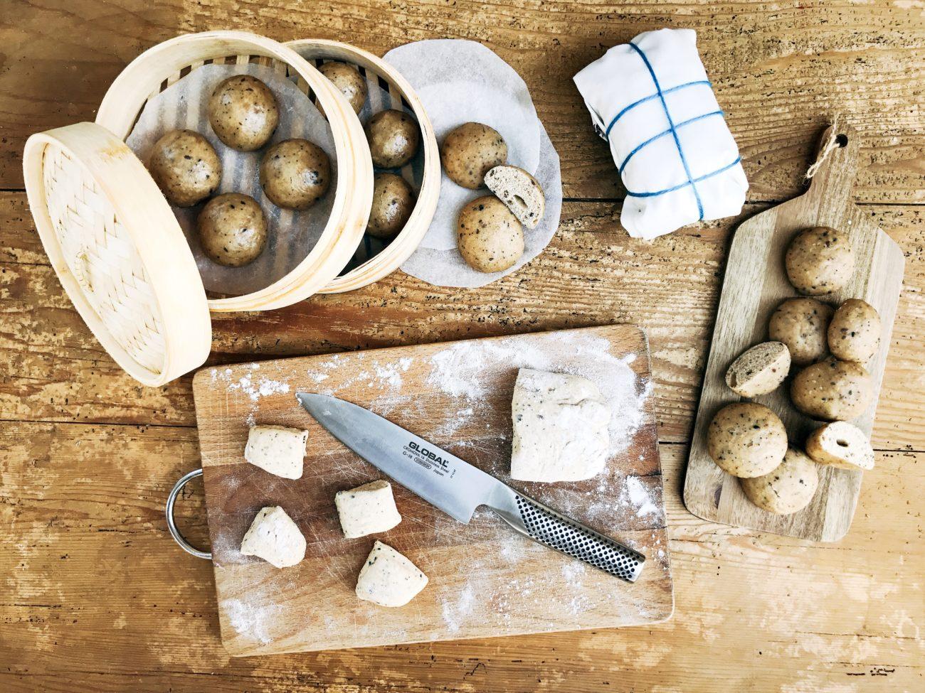pane al vapore - cucinare secondo natura