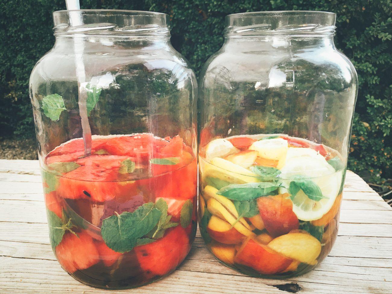 Acqua di frutta