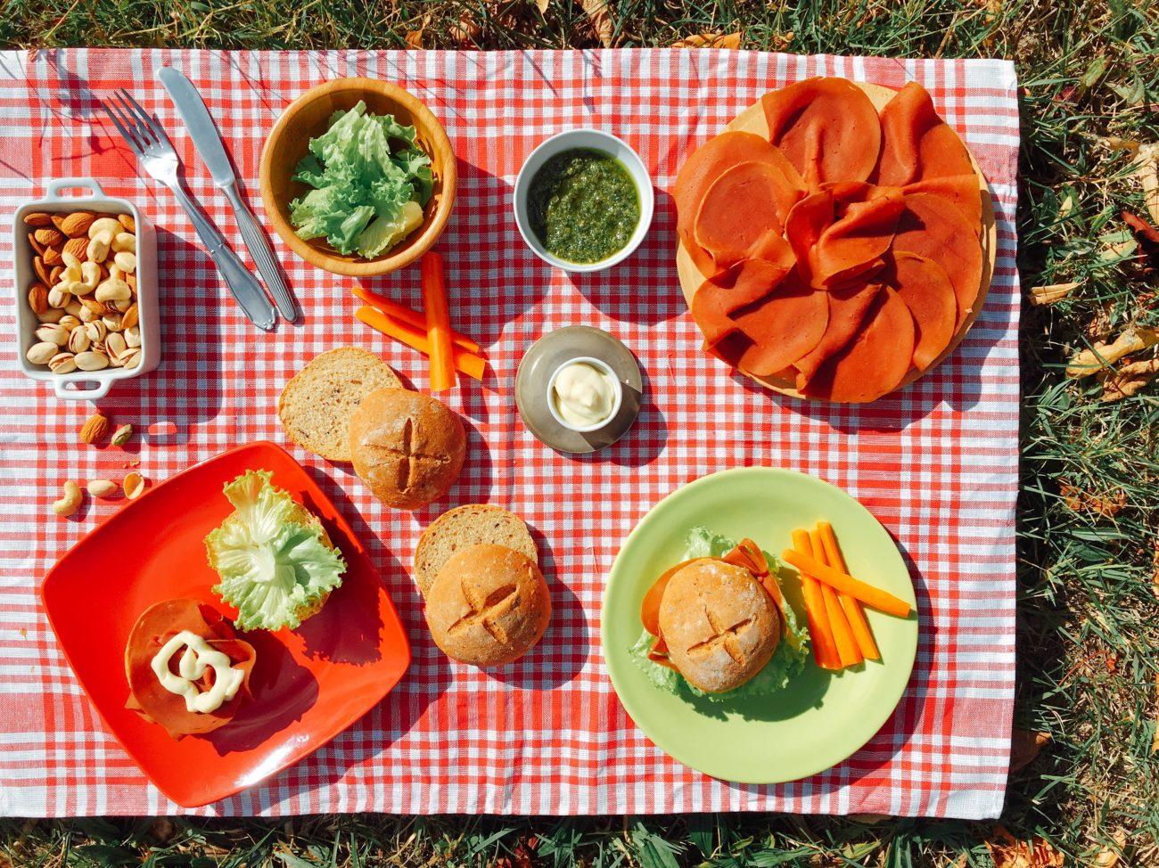 Pic-nic: panini e mopur