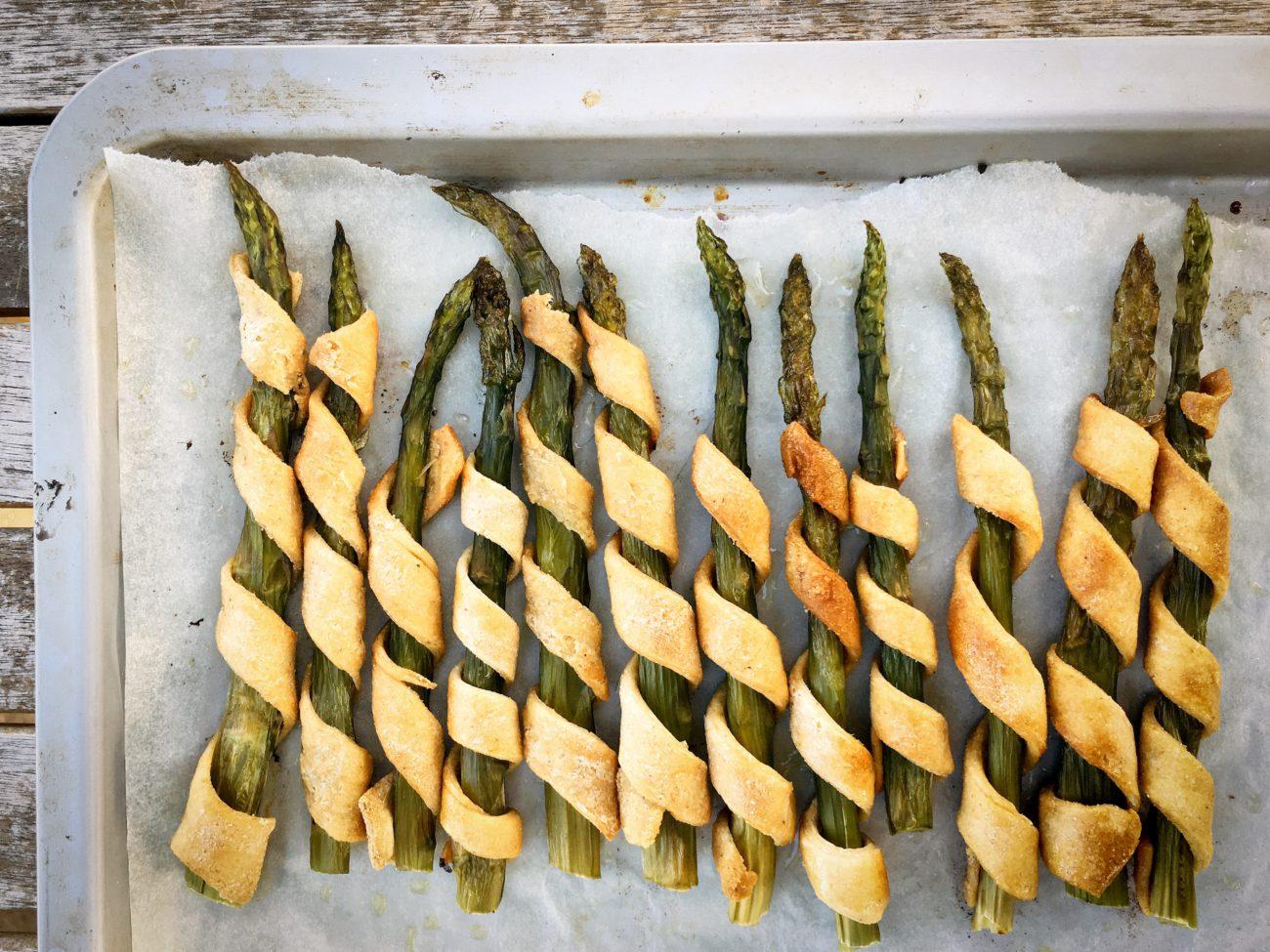 Spirali di asparagi