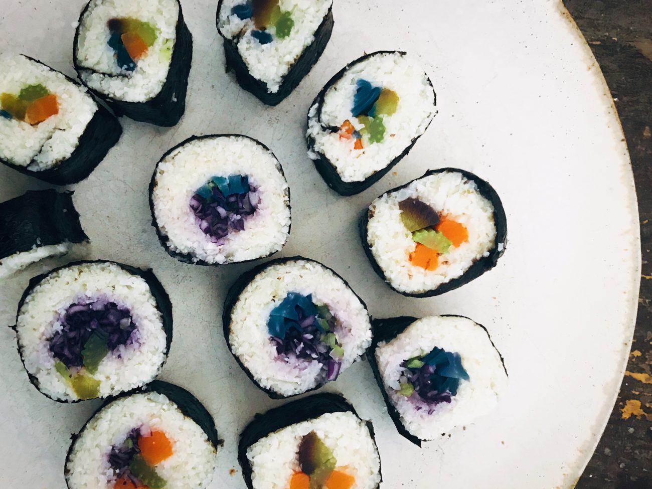 Sushi al cavolfiore