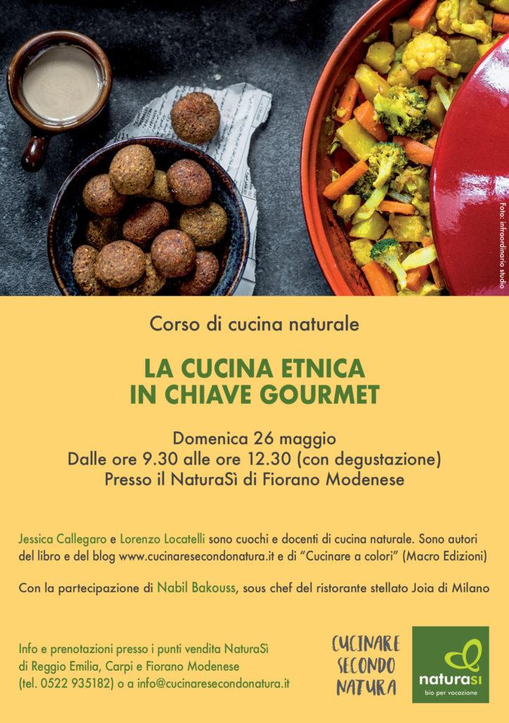 26 maggio 2019 - Fiorano Modenese [CORSO] - Cucinare secondo natura